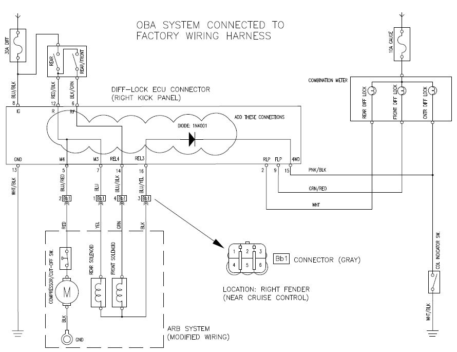 e locker dial wiring harness diagram ih8mud forum oba with factory  at bayanpartner.co