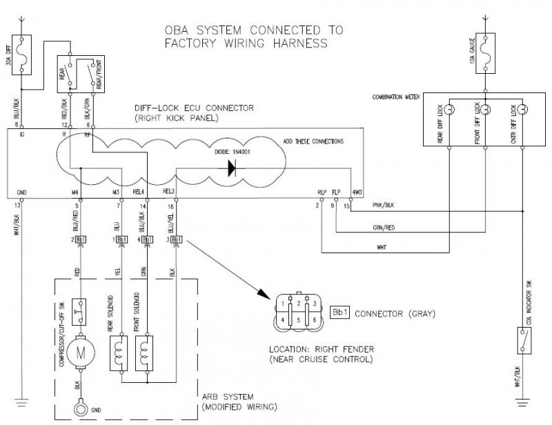 arb locker wiring harness   25 wiring diagram images