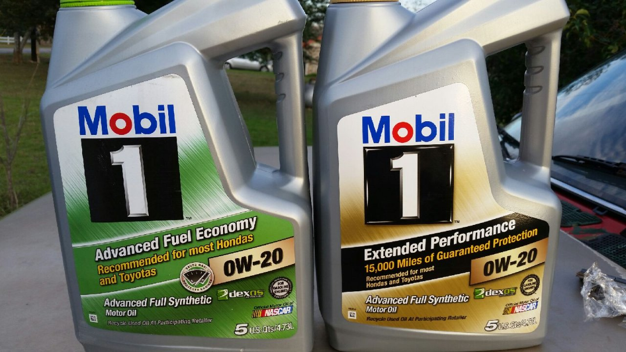 Best 0w 20 Synthetic Oil >> Mobil 1 0w20 Difference Ih8mud Forum