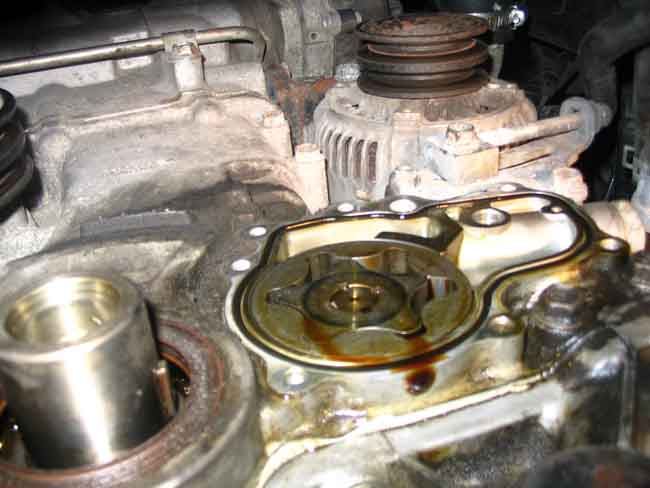How To Replace Oil Pump Seal W Pics Ih8mud Forum
