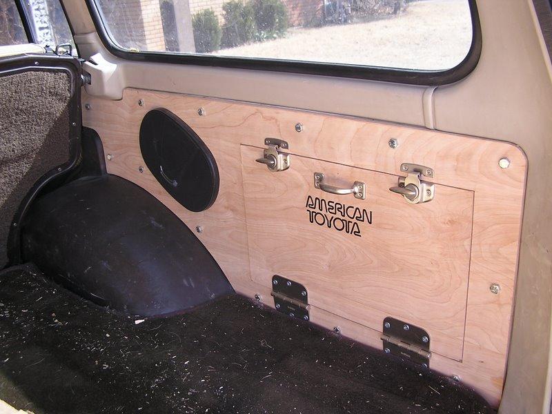 Rear Side Panels With Gear Storage Ih8mud Forum