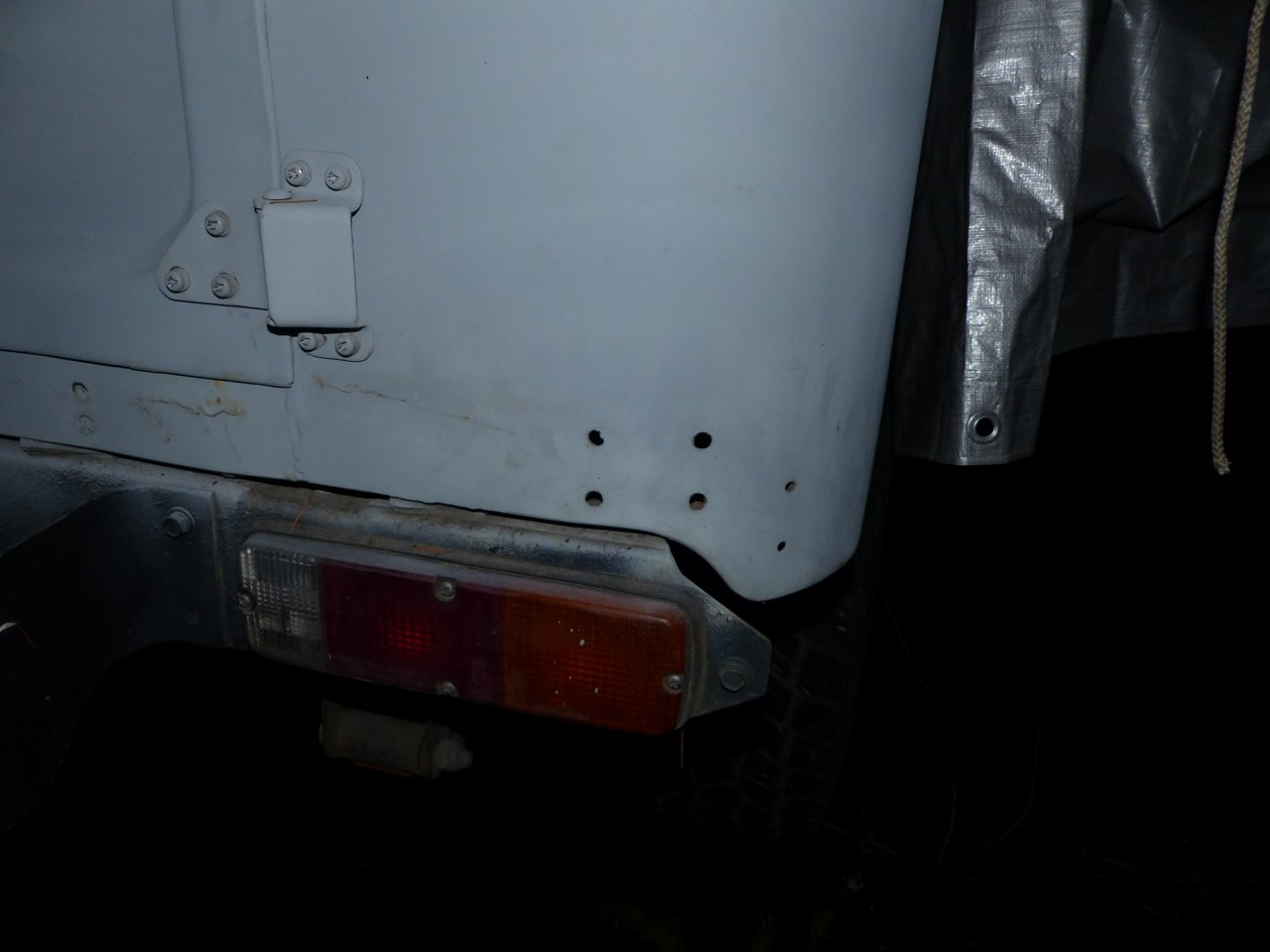 Rear sill and quarter panel patch cost estimate? | IH8MUD Forum