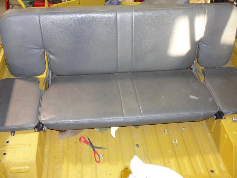 2nd row Bench seat vs side jump seats   IH8MUD Forum