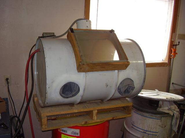 how to make your own sandblaster