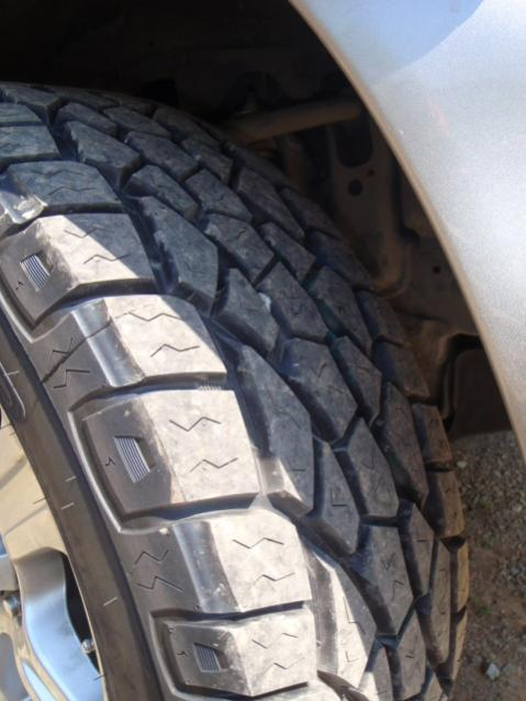 "For Sale - Set of 4 Tundra 18"" rims with 33"" Cooper Zeon ..."