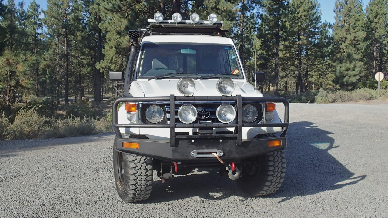 For Sale 1987 Land Cruiser Troopcarrier 1hz 5 Speed Or
