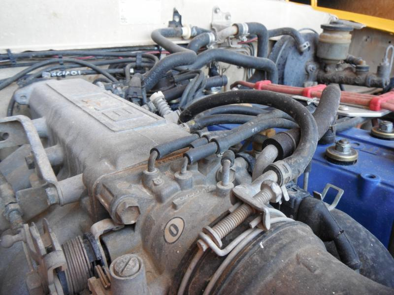 late model intake manifold and throttle body conversion