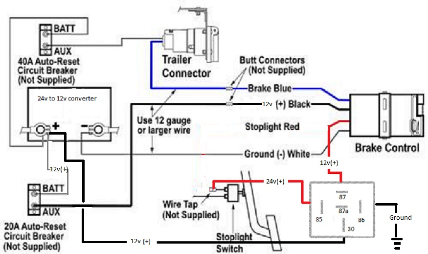 redarc brake controller wiring diagram wiring diagram and electric brake controller wiring diagram