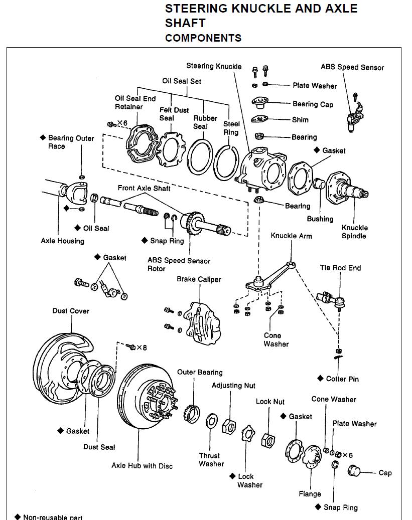 Parts, steering knuckle, pg SA-13 (RM432U).png
