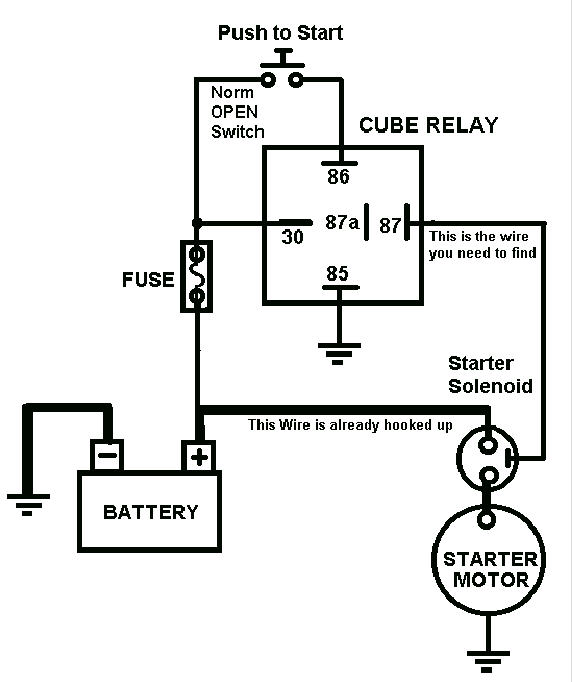 push on start wiring diagram  push  free engine image for