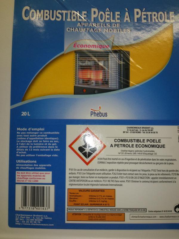 Fabulous with combustible poele a petrole - Combustible poele a petrole auchan ...