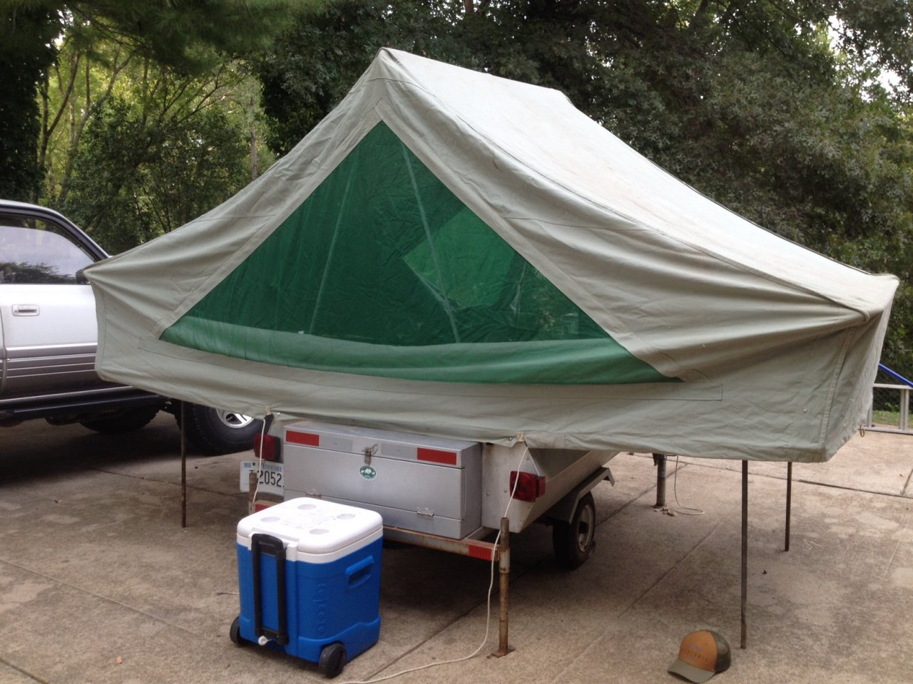 Toyota Tundra Diesel >> Offroad canvas tent trailer hybrid build... | Page 3 ...