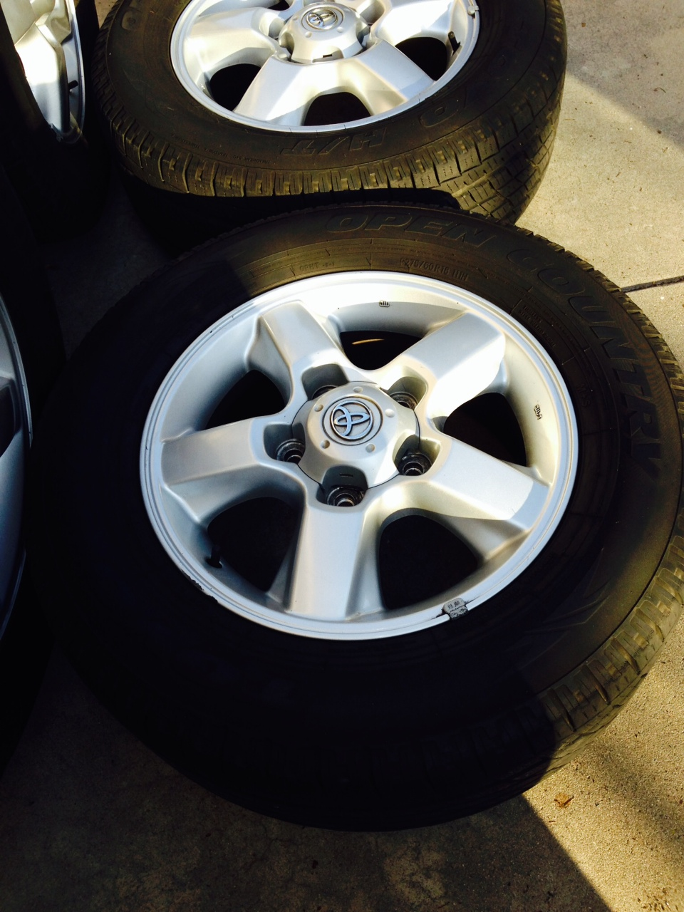 For Sale - Wheels with tires Toyota Land Cruiser - $600 ...