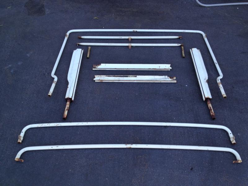 Campers For Sale In Ga >> For Sale - AZ: FJ40 FST Soft Top Bows OEM 1973 Set $800 | IH8MUD Forum