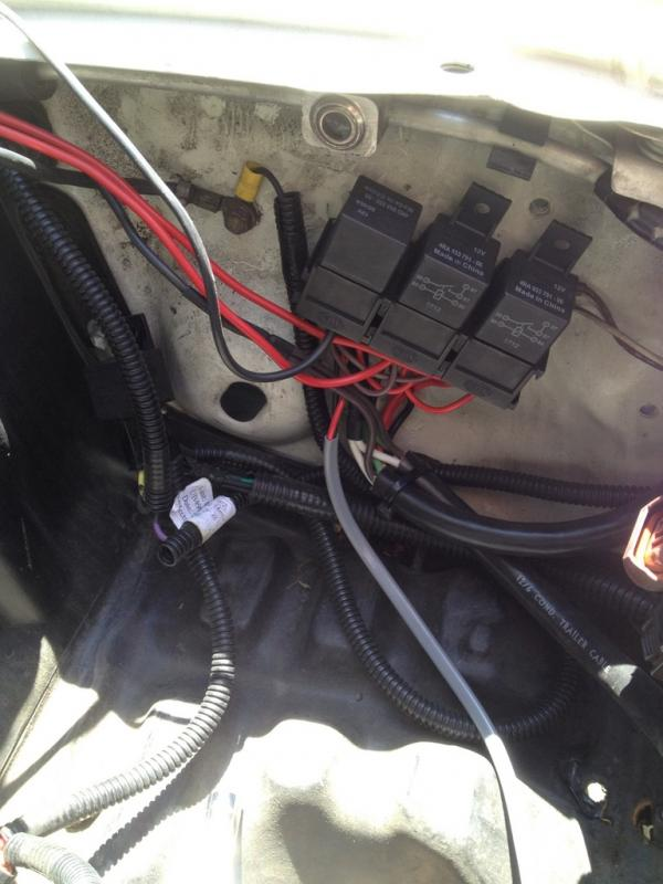Sonar Headlights Wiring Diagram : Depo wiring harness and install ih mud forum