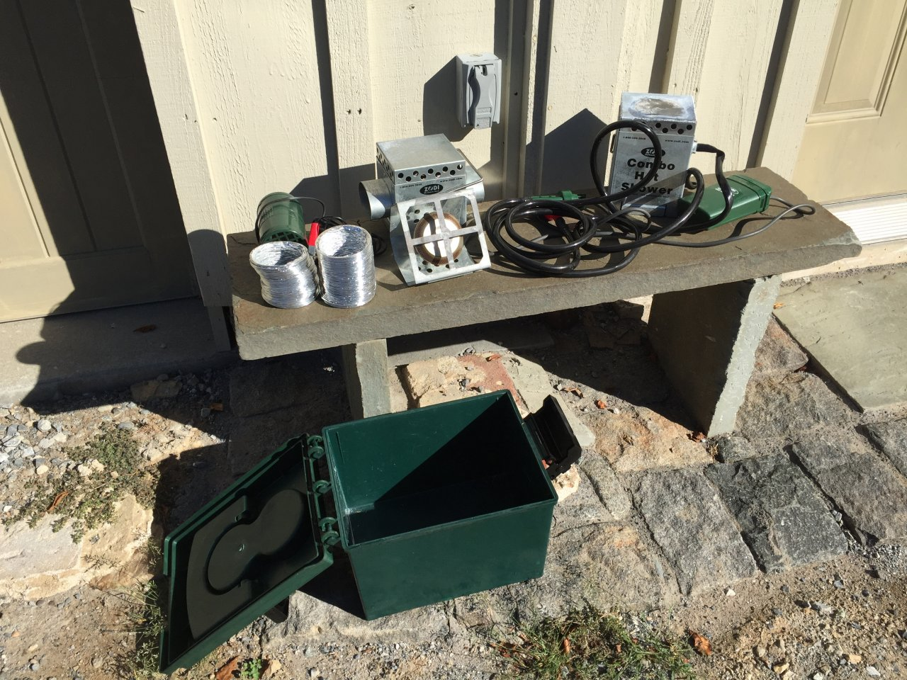 For Sale Zodi Camp Hot Shower Amp Hot Vent Tent Heater