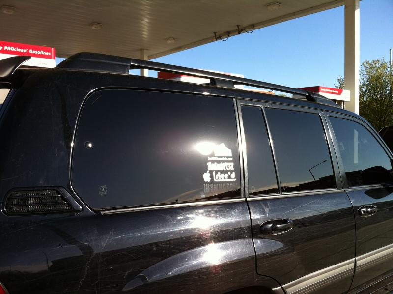 5% tint all the way around | IH8MUD Forum