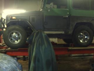 Wheel and tire fitting on FJ40 | IH8MUD Forum