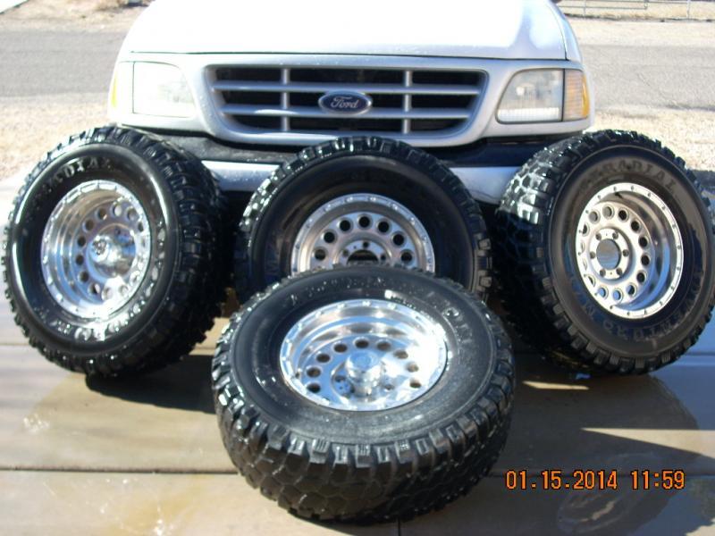 "Diesel Toyota Tundra >> For Sale - 16"" awc raceline rockcrusher alum wheels w/m/t adventuro tires | IH8MUD Forum"