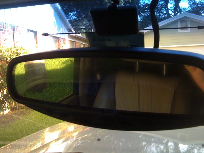 Gentex/ Donnelly Auto Dimming Rear View Mirror Important info ... on