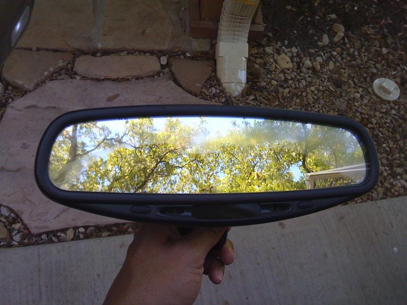 Gentex   Donnelly Auto Dimming Rear View Mirror Important Info