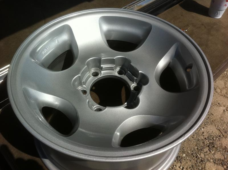 Can You Powder Coat Aluminum >> Pictures of silver powder coated factory alloys? | IH8MUD ...
