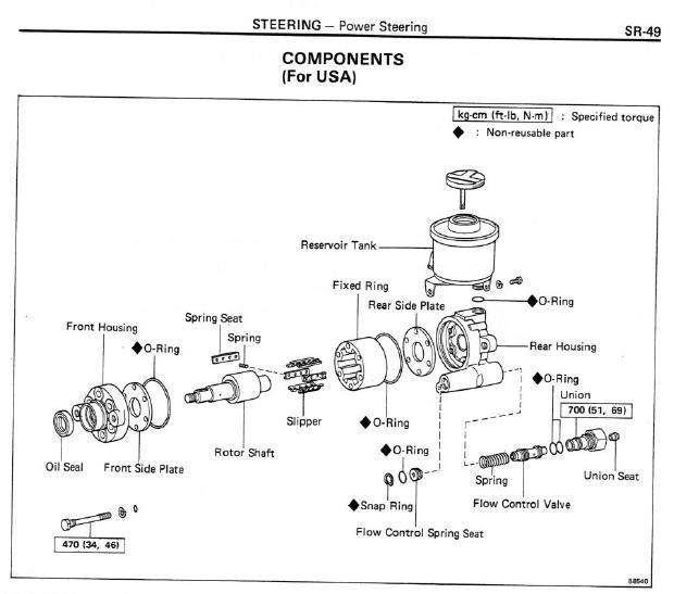 Power Steering Pump Jpg on Dodge Power Steering Diagram