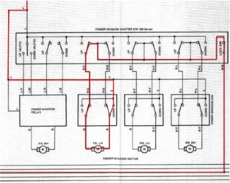 Fj62 Drivers Power Window Autodown Relay Fix Page 3 Ih8mud Forumrhforumih8mud: Window Motor Wiring Diagram At Gmaili.net