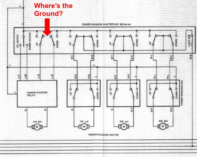 Power Window Relay Switch Wiring Diagram Diagramrha16raepopeissde: Power Window Relay Switch Wiring Diagram At Gmaili.net