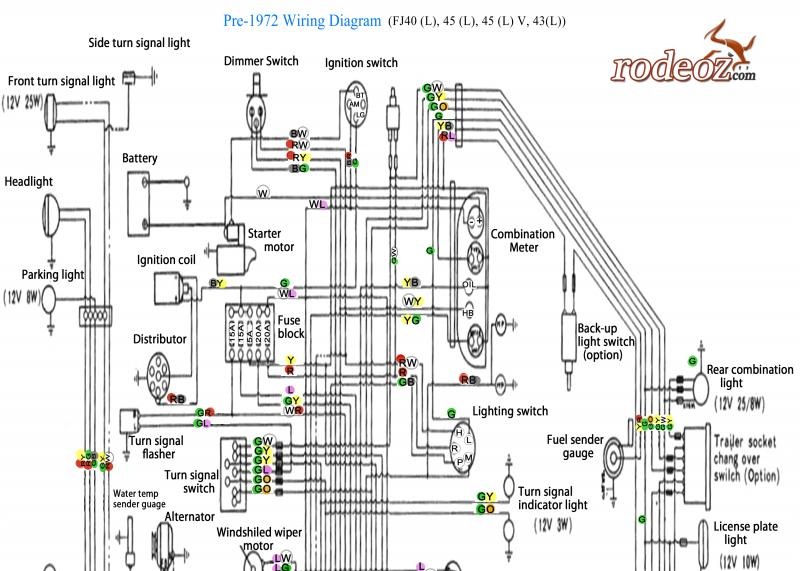 enhanced pre 1972 fj wiring diagram as requested kwikee step wiring diagram 28 wiring diagram mahindra 28