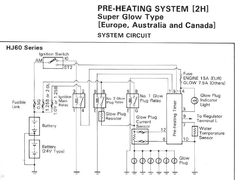 2h glow plug wiring diagram 2h image wiring diagram another 24v vs 12v question page 2 ih8mud forum on 2h glow plug wiring diagram