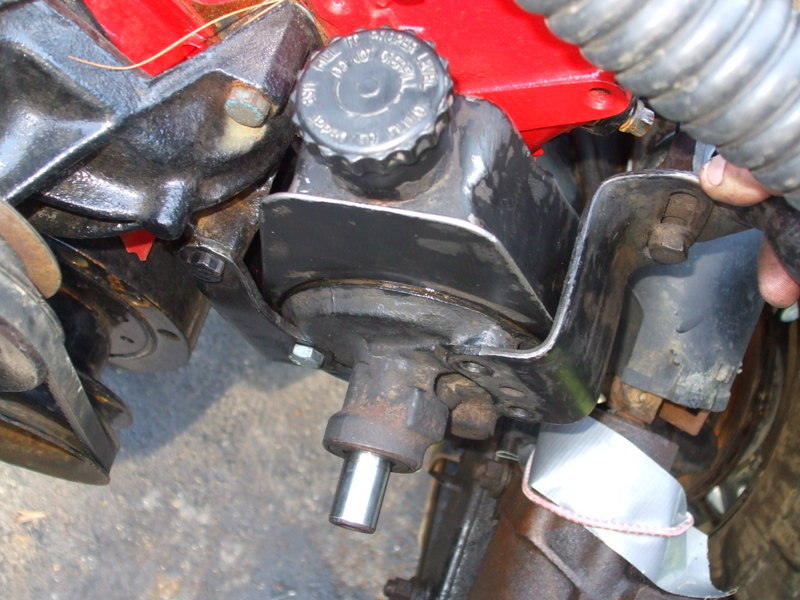 Power Steering Conversion On 74 Fj40 Ih8mud Forum