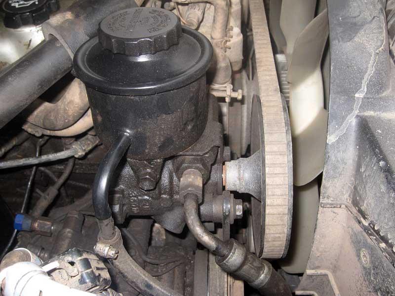 Power Steering Pup Repair How Hard Ih8mud Forum