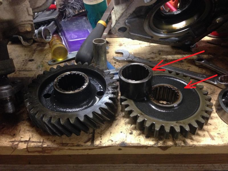 Pto Drive Gear : Troubled desicion  barnie purchase resto page