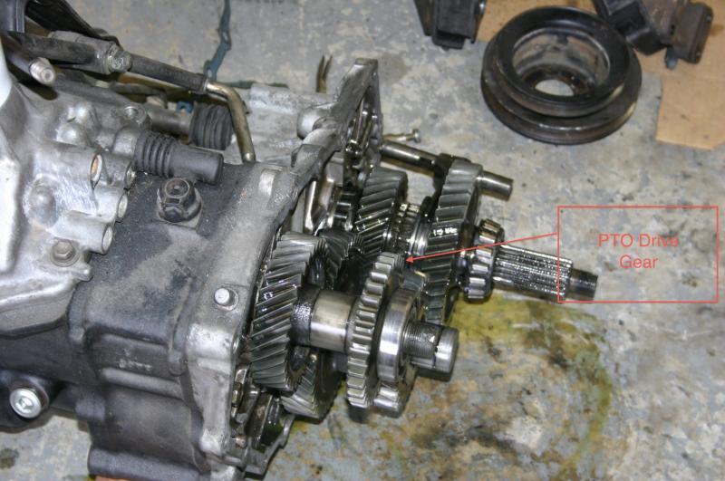 Pto Drive Gear : Pto rpm questions ih mud forum