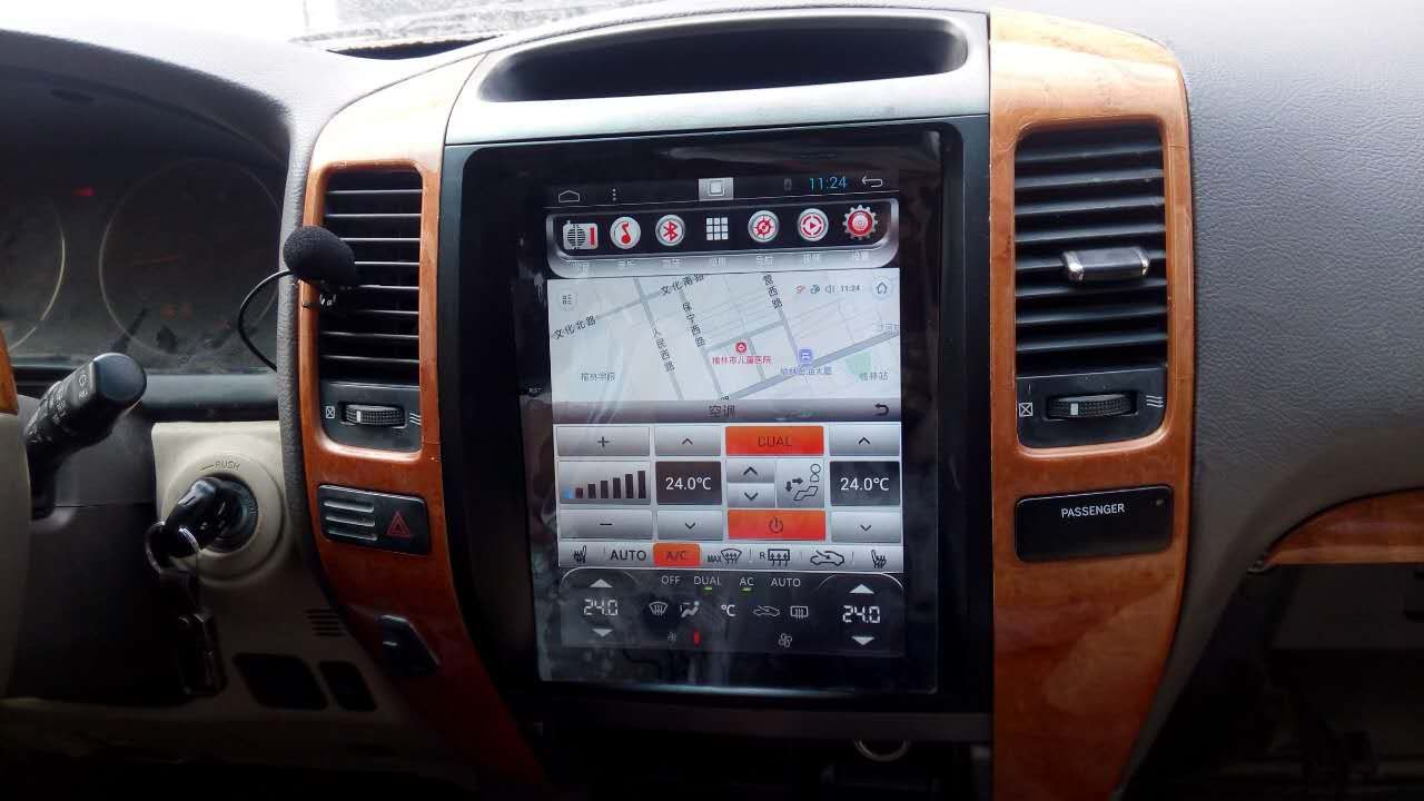 DIY Lexus GX470 Beat Sonic Double Din Aftermarket Stereo