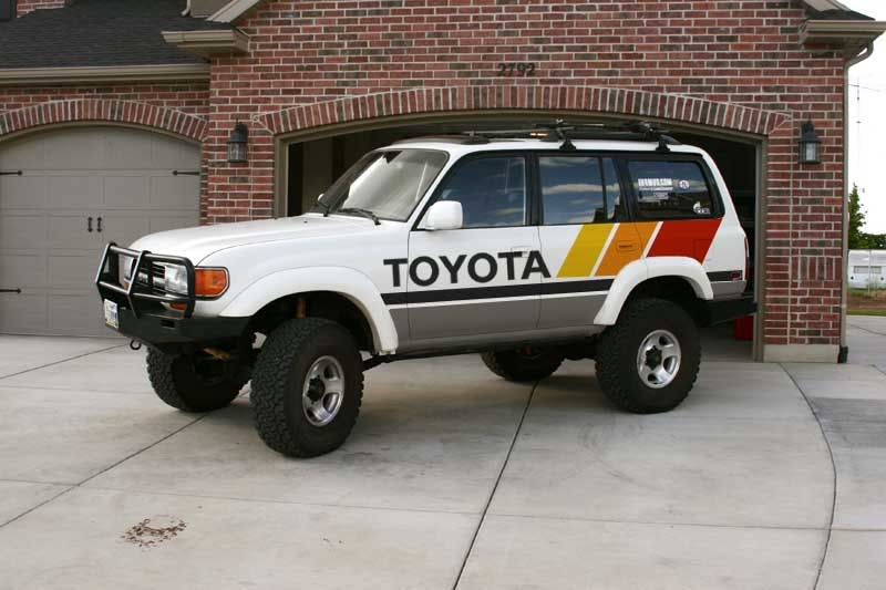 Fj Cruiser Sticker >> Dammit, I love this Jeep's paint/vinyl job... - Toyota FJ Cruiser Forum