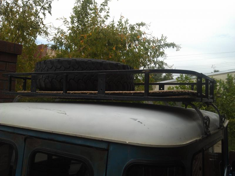 For Sale Fj40 Roof Rack Amp Set Of 5 Tires Also Free