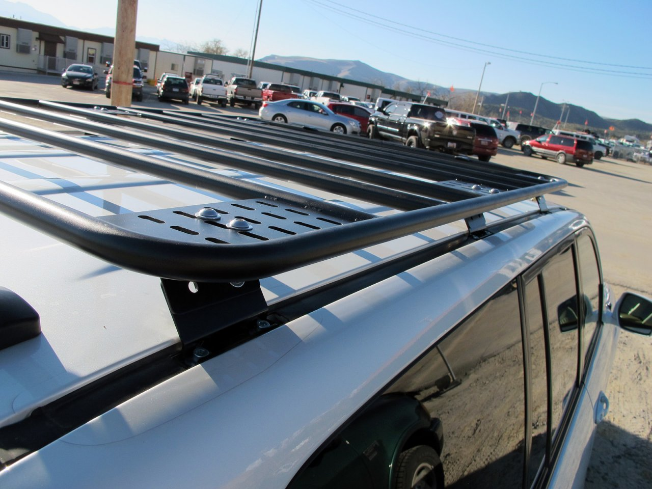 Gamiviti 3 4 Flat Roof Rack Installed Ih8mud Forum