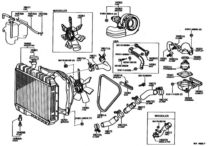 Lower Radiator Hose Part