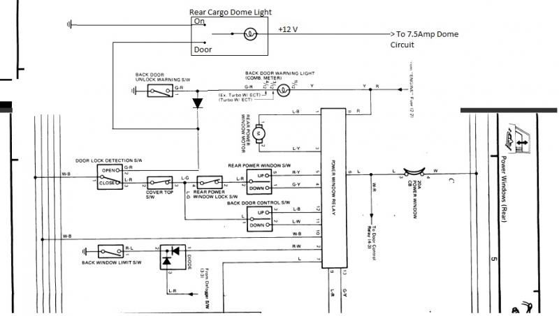 85 Toyota Pickup Wiring Diagram 31 S. 1995 Toyota 4runner Window Wiring Diagram On Download Wirning 85 Pickup At. Chevrolet. 1991 Chevy Silverado Door Wire Diagram At Scoala.co