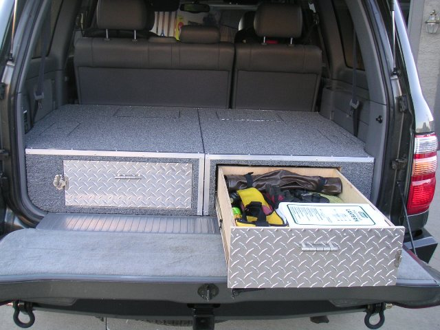 100 Series Rear Drawer System Build (w/picks) | IH8MUD Forum