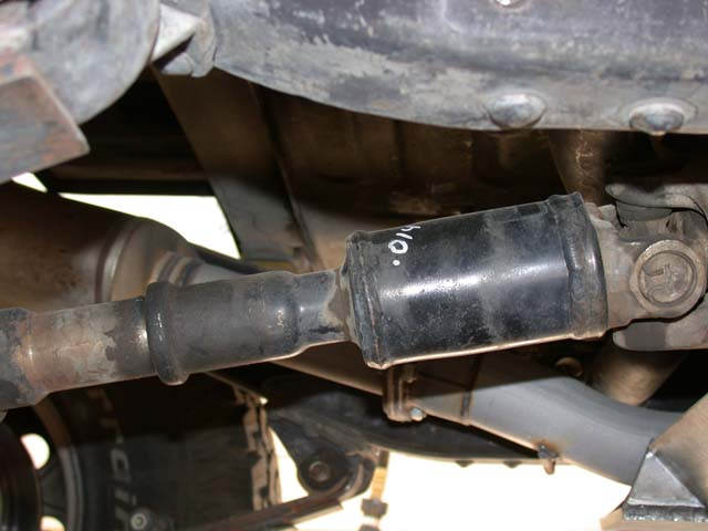 Cardan Joint Has Anyone Fitted To Fj40 Rear Propshaft
