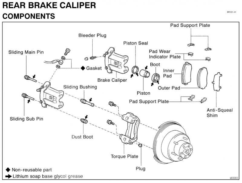 Brake Rotor And Caliper Diagram : Rotor torque diagram free engine image for user