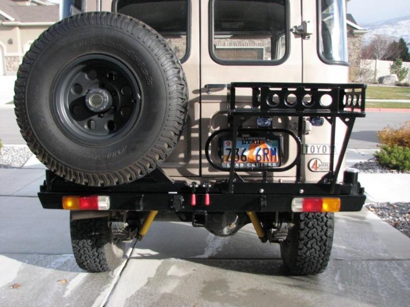 My Dual Swing Arm Fj40 Rear Bumper Ih8mud Forum
