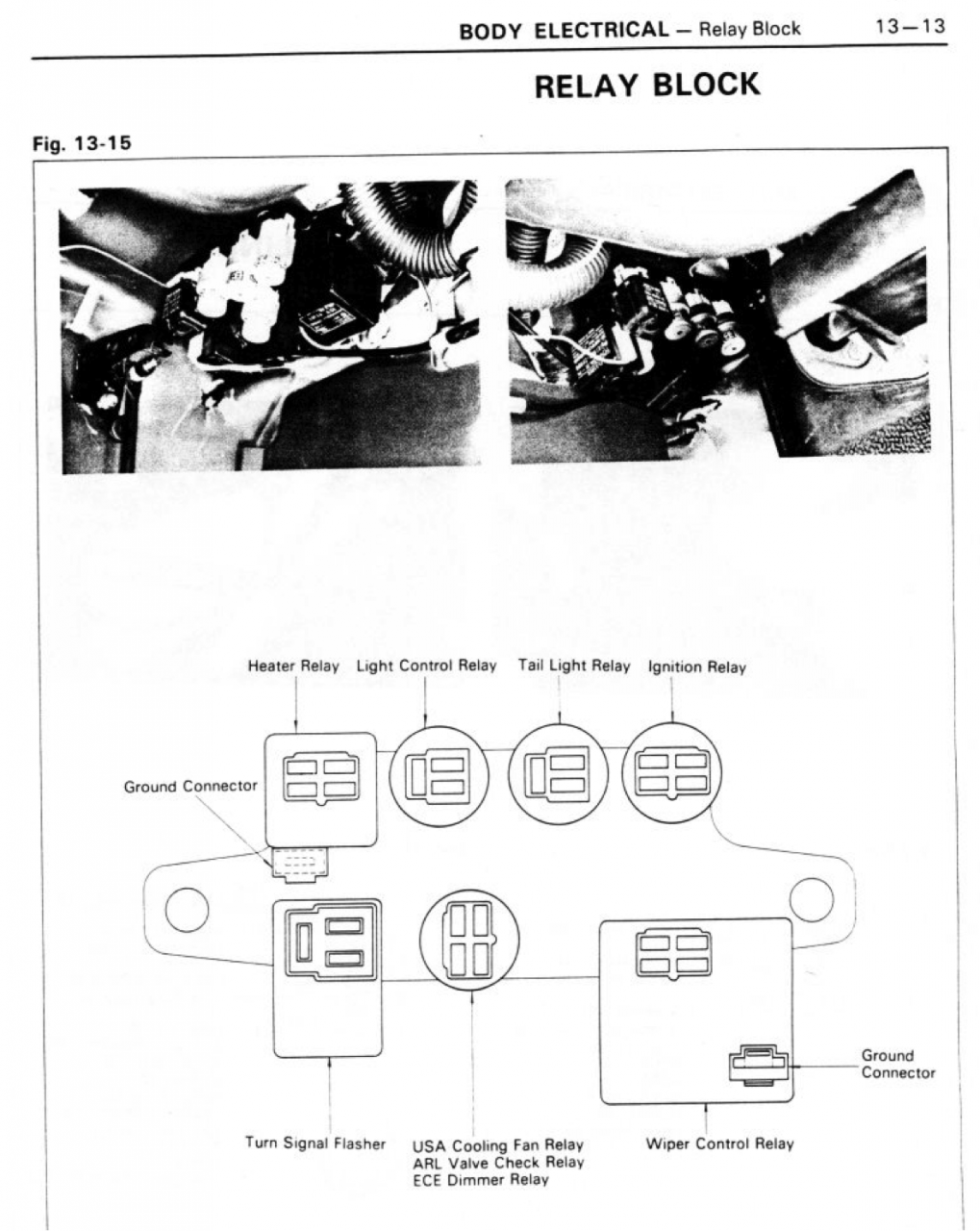 Relay Block FJ60 from Chassis-body 1980 repair manual.png