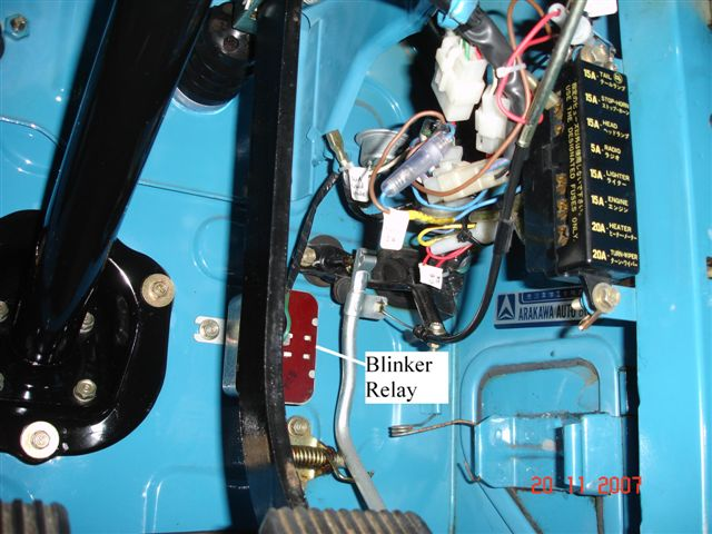 where is flasher relay hiding in a 73 FJ40 IH8MUD Forum