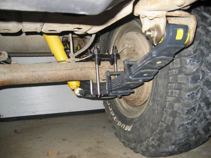 Colorado Springs Toyota >> Man-a-fre U-bolt flip kit | Page 2 | IH8MUD Forum