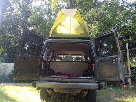 Toyota Tundra Diesel >> DIY rooftop tent | IH8MUD Forum
