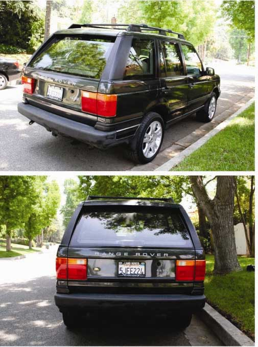 New Range Rover >> For Sale - 1999 Range Rover HSE Charcoal Gray - Los ...